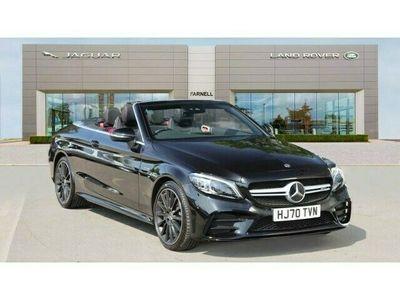 used Mercedes C43 AMG C-Class4Matic Premium 2dr 9G-Tronic Petrol Cabriolet