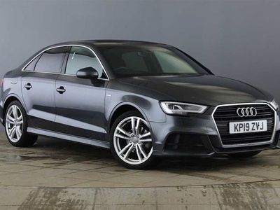 used Audi A3 SALOON S Line 35 Tfsi 150 Ps S Tronic Auto