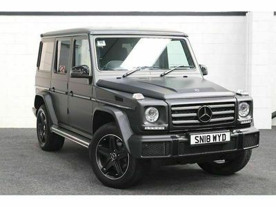 used Mercedes G350 G Class 3.0CDi Night Edition SUV 5dr Diesel G-Tronic 4WD (s/s) (245 ps)