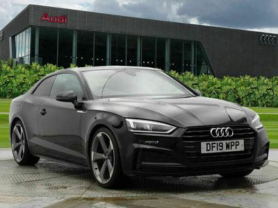 used Audi A5 Coupé Coup- Black Edition 40 TFSI 190 PS S tronic