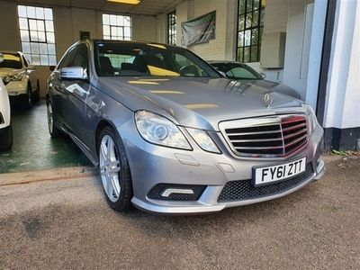 used Mercedes E250 E-Class 2.1CDI BLUEEFFICIENCY SPORT 4d 204 BHP # LOW MILES AND BIG SPECIFICAT