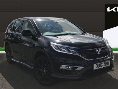 used Honda CR-V 1.6 I DTec Black Edition SUV 5dr Diesel 4wd (s/s) (160 Ps)
