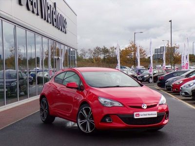 used Vauxhall Astra GTC 1.6T 16V 200 Limited Edition 3Dr