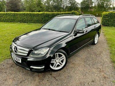 used Mercedes C220 C-Class 2.1TDCDI AMG Sport (168bhp) CDI Estate 5d