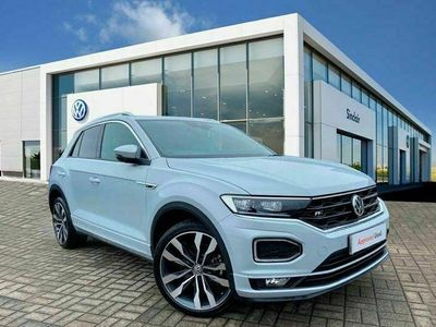 used VW T-Roc 2.0 TDI R-Line 150PS + ELECTRIC BOOT
