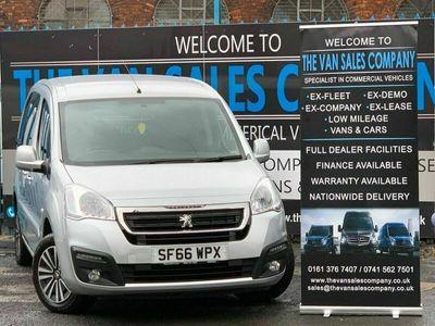used Peugeot Partner 1.6 BLUE HDI S/S TEPEE ACTIVE 5d 100 BHP 5-Door