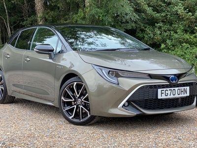 used Toyota Corolla Hatchback 2.0 VVT-i Hybrid Excel Hatchback 2020