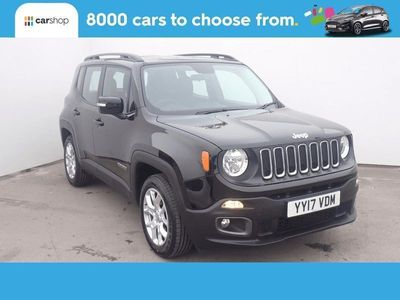 used Jeep Renegade 1.6 E-torQ Longitude 5dr Black Manual Petrol