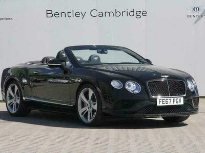 used Bentley Continental GTC 4.0 V8 S Mulliner Driving Spec 2dr Auto convertible 2017