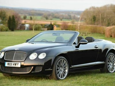used Bentley Continental 6.0 W12 GTC Speed 2dr