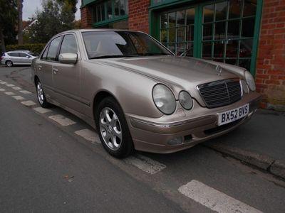 used Mercedes E240 E ClassELEGANCE Saloon 2002