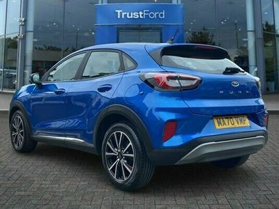 used Ford Puma TITANIUM With Sync 3 Touchscreen Navigation + Rear Parking Sensors 1.0 5dr