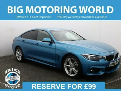 used BMW 420 Gran Coupé 4 Series I M SPORT for sale | Big Motoring World