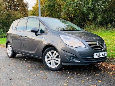 used Vauxhall Meriva 1.4 i 16v SE 5dr (a/c)