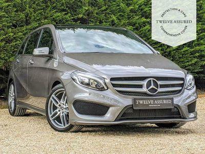 used Mercedes B200 B-CLASS 2.1D AMG LINE PREMIUM PLUS 5d 134 BHP (PAN ROOF)