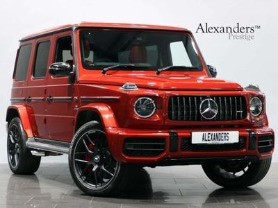 used Mercedes G63 AMG G Class 4.0V8 BiTurbo AMG SpdS+9GT 4WD (s/s) 5dr Auto