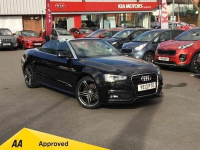 used Audi A5 Cabriolet 2.0 Tdi 177 S Line Special Edition 2Dr
