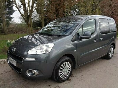 used Peugeot Partner Tepee 1.6 HDi 92 S 5dr wheelchair access 0 miles free delivery within 20 miles 3 months warranty