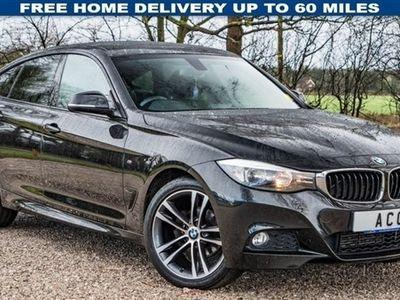 used BMW 318 Gran Turismo 3 SERIES 2.0 D M SPORT 5d AUTO 141 BHP