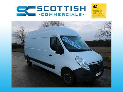 used Vauxhall Movano 2.3 CDTi 3500 Panel Van 5dr Diesel Manual FWD L3 H3 EU5 (125 ps)