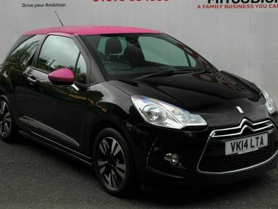 used Citroën DS3 DSTYLE PINK
