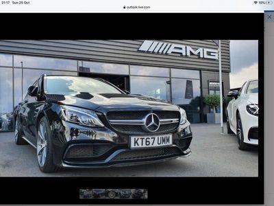 used Mercedes C63 AMG C Class 4.0V8 BiTurbo AMG (Premium) SpdS MCT (s/s) 5dr