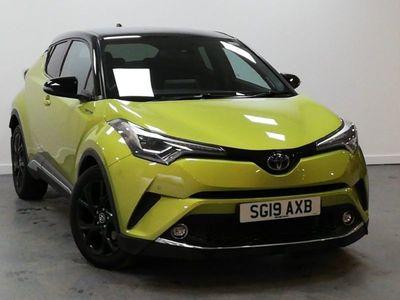used Toyota C-HR 1.8 Hybrid Lime Edition 5Dr Cvt