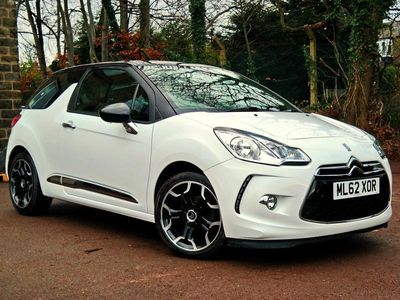 used Citroën DS3 1.6 e-HDi Airdream DStyle Plus 3dr £0 Tax, Full Service History