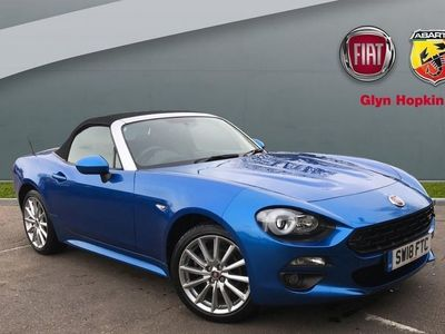 used Fiat 124 Spider 2018 Ipswich Convertible Lusso