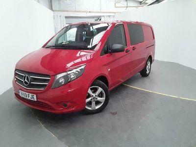 used Mercedes Vito 116 Cdi 163 L2h1 Premium Lwb 5 Seat Crew Van 7g-tronic