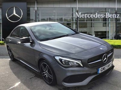 used Mercedes CLA220 CLAAmg Line 4Matic 4Dr Tip Auto
