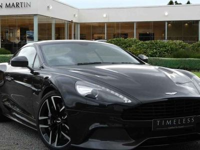 used Aston Martin Vanquish 2015 Wilmslow V12 Carbon Black Ed 2+2 2dr Touchtronic Auto