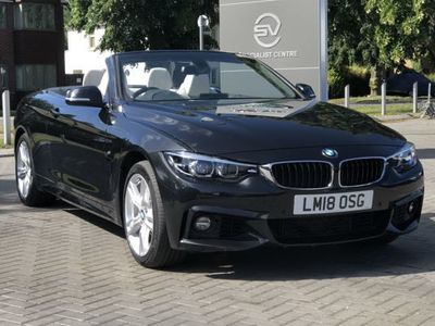 used BMW 435 4 Series d xDrive M Sport 2dr Auto [Professional Media] Convertible 2018