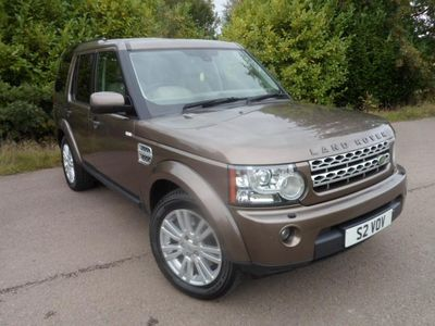 used Land Rover Discovery 4 Discovery 4 3.0TDV6 (242bhp) 4X4 HSE Station Wagon 5d 2993cc Auto 20104x4