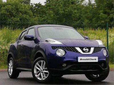 used Nissan Juke 1.6 N-Connecta 5Dr Xtronic