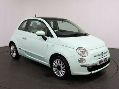 used Fiat 500 1.2 LOUNGE 3d 69 BHP Pan Roof Bluetooth Voice Command 15 inch Alloys Service History Service History