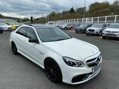 used Mercedes S63 AMG E-Class 5.5 AMG E4d 577 BHP AMG Driver's Package