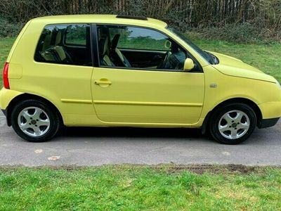 used VW Lupo VW 1.4 S 3dr Factory Leather interior and Alloy wheels