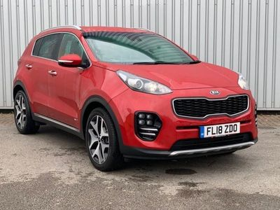 used Kia Sportage 1.6 T-GDi GT-Line DCT AWD 5dr