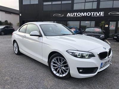 used BMW 218 2 Series 2.0 D SE 2DR