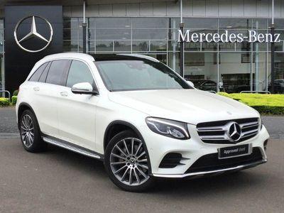 used Mercedes GLC350 GLC Class GLC4Matic AMG Line Prem Plus 5dr 9G-Tronic suv 2017