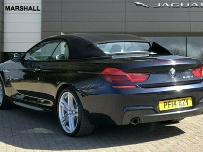 used BMW 640 6 SERIES d M Sport 2dr Auto diesel convertible