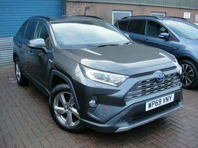 used Toyota RAV4 2.5 VVT-I EXCEL 5d 219 BHP LIKE NEW INSIDE AND OUT AUTO HYBRID