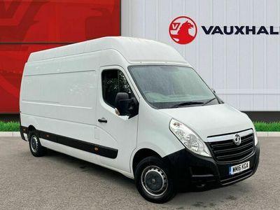 used Vauxhall Movano 2.3 CDTi BiTurbo ecoFLEX H3 Van 136ps