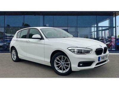 used BMW 116 1 Series d SE Business 5dr [Nav/Servotronic]