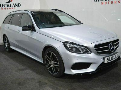 used Mercedes E350 E ClassBlueTEC AMG Night Ed Prem Plus 5dr 9G-Tronic