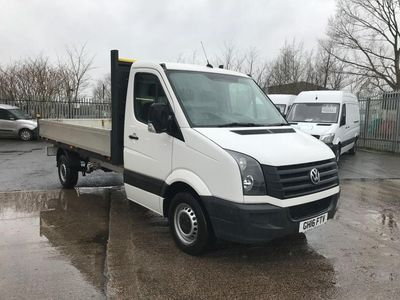 used VW Crafter CR35 13FT DROPSIDE 2.0TDI 136PS EURO 5