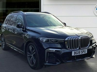 used BMW X7 xDrive M50d 5dr Step Auto Diesel Estate Panoramic Sunroof