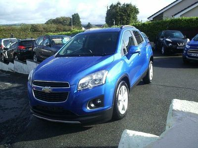used Chevrolet Trax (Mokka)1.6 16v LT 5 Door S.U.V. WiTH ONLY 45,437 MiLES, F.S.H.