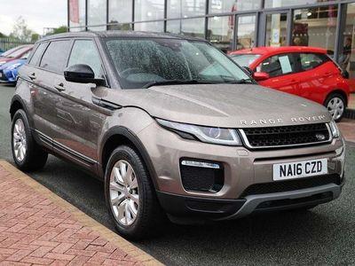 used Land Rover Range Rover evoque Diesel Hatchback 2.0 eD4 SE Tech 5dr 2WD